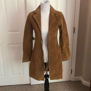 Vintage Wet Seal Tan Boho Festival hippie Jacket S